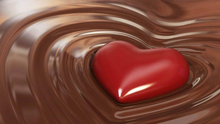 Chocolate đen giúp ngọn lửa tình yêu tuyệt vời