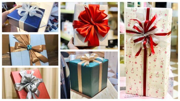 Cách buộc nơ hoàn hảo cho món quà của bạn