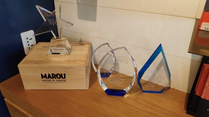 Socola Maison Marou Chocolate với rất nhiều các giải thưởng lớn quốc tế