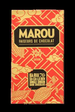 ZingSweets - Socola đen nguyên chất Maison Marou Chocolate Bà Rịa 76%