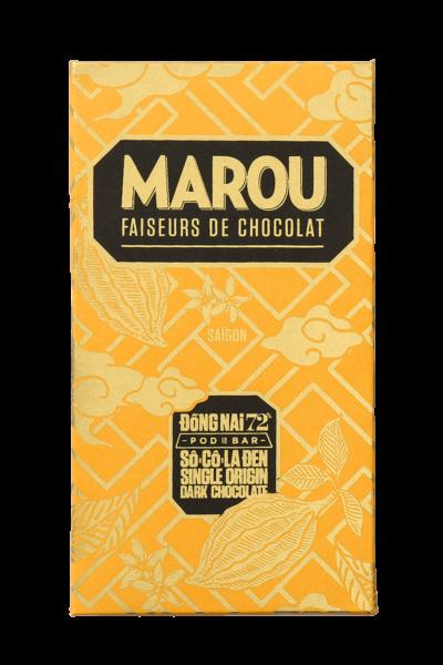 ZingSweets - Socola đen nguyên chất Maison Marou Chocolate Đống Nai 72%