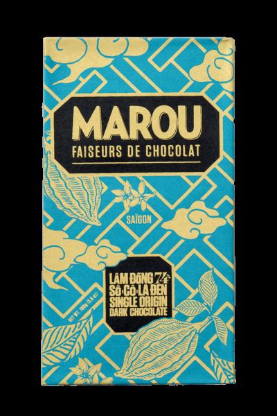 ZingSweets - Socola đen nguyên chất Maison Marou Chocolate Lâm Đồng 74%