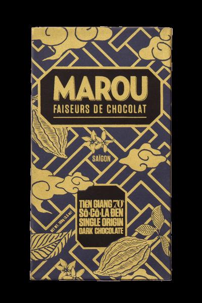 ZingSweets - Socola đen nguyên chất Maison Marou Chocolate Tiền Giang 70%