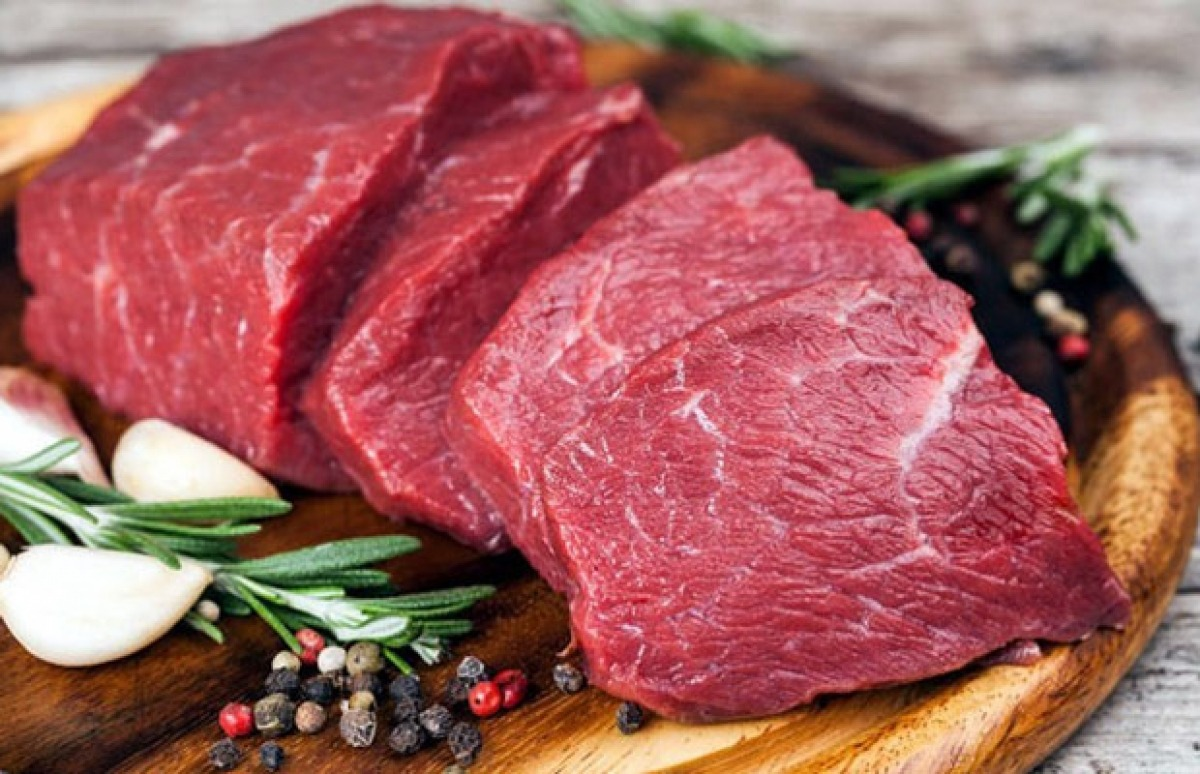 Thịt bò là thực phẩm tốt dành cho người bị thiếu máu