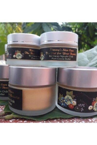 Cacao - Bơ cacao nguyên chất 100% Kimmy's Chocolate Việt Nam hũ 50g KMP03