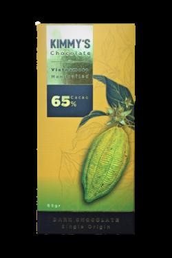 Socola - Socola đen nguyên chất Kimmy's Chocolate Việt Nam 65% cacao thanh 65g KMB03
