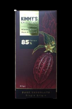 Socola - Socola đen nguyên chất Kimmy's Chocolate Việt Nam 85% cacao thanh 65g KMB05