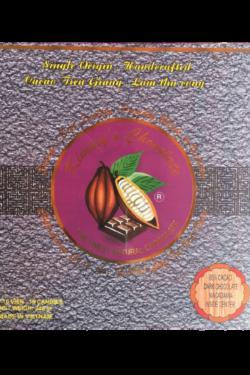 Socola - Socola đen nhân mắc ca Kimmy's Chocolate Việt Nam 65% cacao hộp 16 viên 240g KMG06