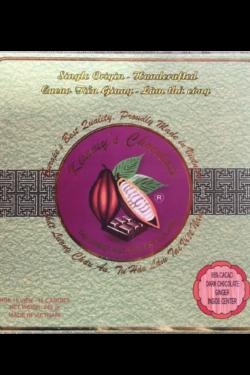 Socola - Socola đen nhân mứt gừng Kimmy's Chocolate Việt Nam 65% cacao hộp 16 viên 240g KMG04
