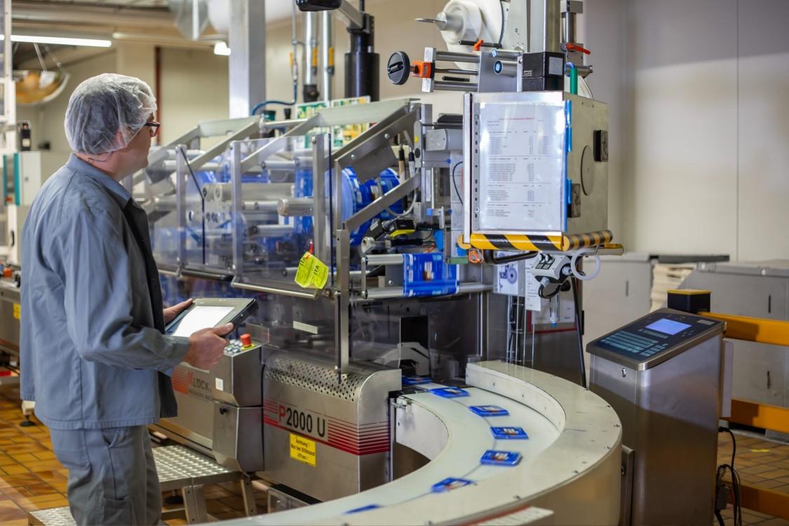 Ritter Sport Chocolate Sử dụng công nghệ hiện đại