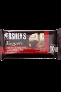 Socola - Socola đen nhân hạnh nhân Hershey's Nuggets gói 56g HSB07