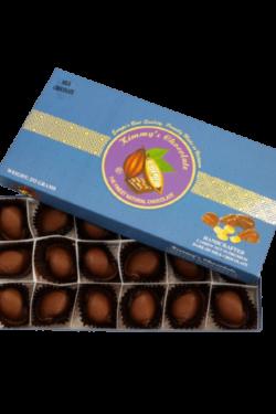 Socola - Socola đen nhân hạt điều Kimmy's Chocolate Việt Nam 65% cacao hộp 18 viên 252g KMG10
