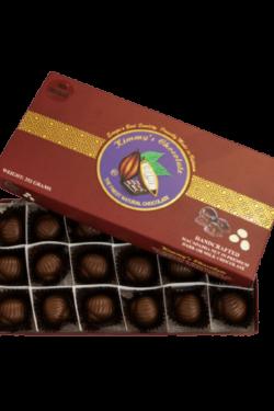 Socola - Socola đen nhân mắc ca Kimmy's Chocolate Việt Nam 65% cacao hộp 18 viên 240g KMG06