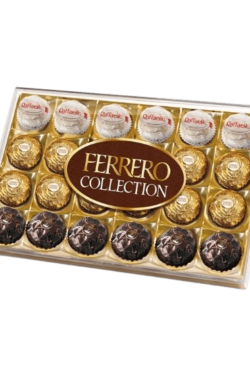 Socola -Socola Ferrero Rocher collection hộp 24 viên 269gr FRBO5