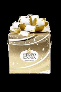Socola - Socola Ferrero Rocher hộp quà tặng thắt nơ 64.8gr FRBO6