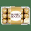 Socola - Socola nhân hạt dẻ Ferrero Rocher hộp 30 viên 375g FRBO4