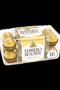 Socola - Socola sữa nhân hạt phỉ Ferrero Rocher hộp 16 viên 200g FRBO3