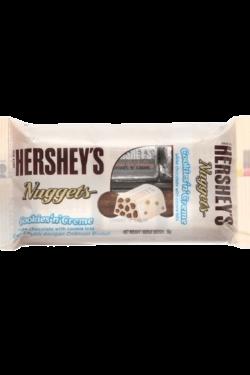 Socola - Socola trắng nhân bánh quy Hershey's Nuggets gói 56g HSB03