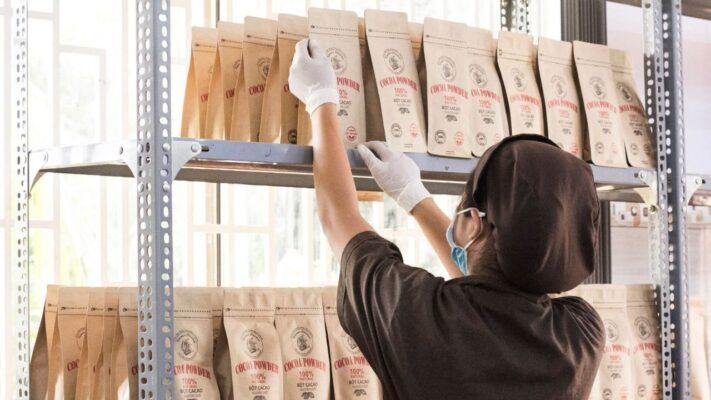 Các sản phẩm Kimmy' Chocolate hoàn toàn được sản xuất thủ công