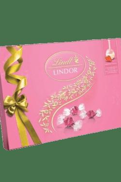 ZingSweets - Hộp quà Socola sữa Lindor Lindt 168g LLB02