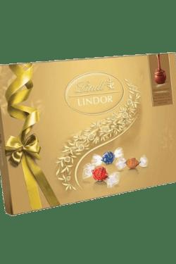 ZingSweets - Hộp socola Lindor hỗn hợp hiệu Lindt 168g LLB07