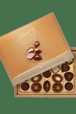 ZingSweets - Hộp Socola Lindt Swiss Luxury Selection 192g LLB06