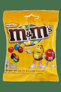 ZingSweets - Kẹo socola nhân đậu phộng M&M's gói 100g MMSB01