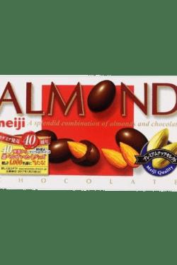 ZingSweets - Kẹo socola nhân hạnh nhân Meiji hộp 64g MJB04