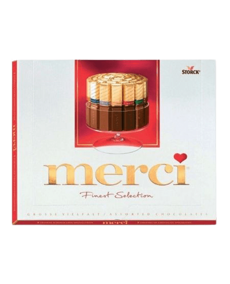 ZingSweets - Kẹo socola Storck Merci 250g MCB06