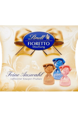 ZingSweets - Socola Lindt FIORETTO Mischung Feine Auswwall 253g LLB13