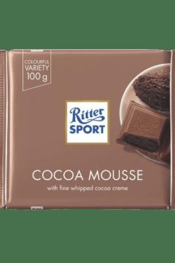 ZingSweets - Socola sữa nhân cacao Ritter Sport thanh 100g RSB10